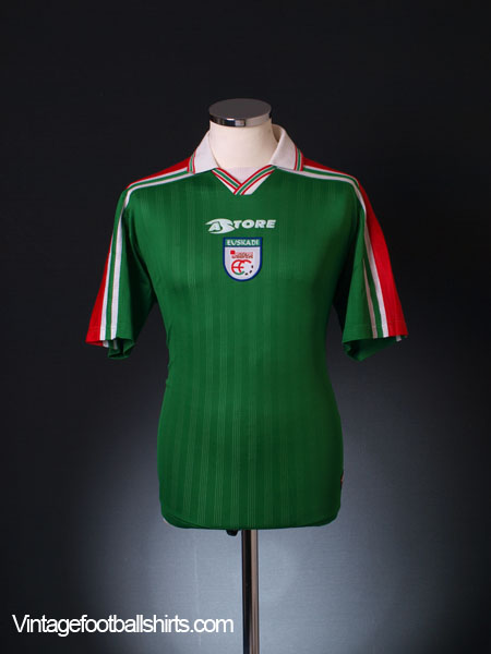 1997-00 Euskadi Home Shirt L