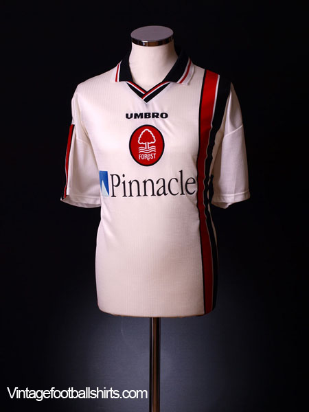 1997-00 Nottingham Forest Away Shirt XL