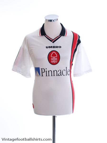 1997-00 Nottingham Forest Away Shirt M