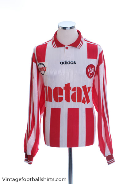 1997-98 Aalborg BK Match Issue Home Shirt #17 L/S XL