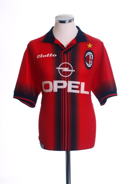 1997-98 AC Milan Fourth Shirt L
