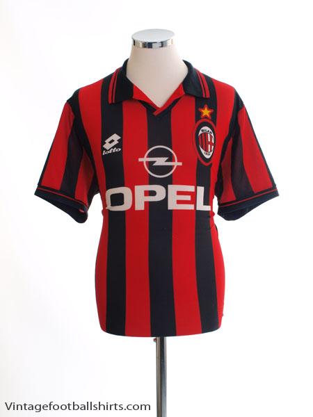 1997-98 AC Milan Home Shirt L