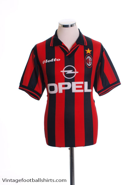 1997-98 AC Milan Home Shirt XL