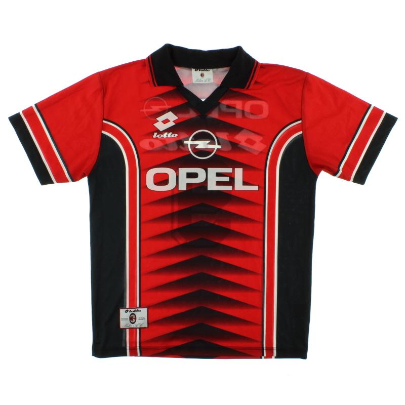 1997-98 AC Milan Lotto Training Shirt #9 XL
