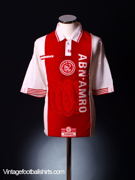 1997-98 Ajax Home Shirt L