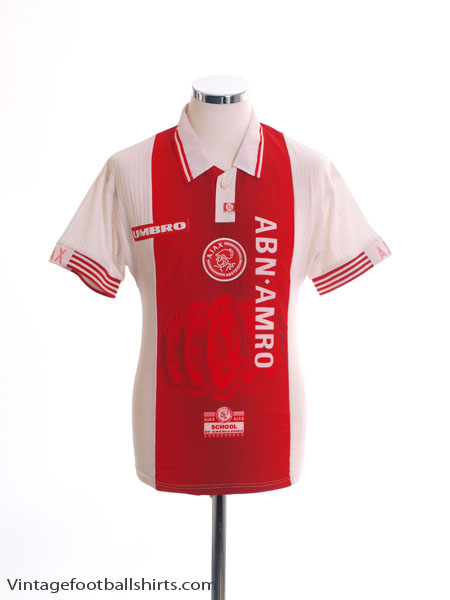 1997-98 Ajax Home Shirt L