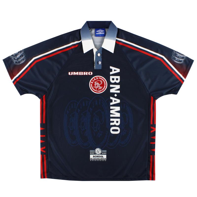 1997-98 Ajax Umbro Away Shirt XL
