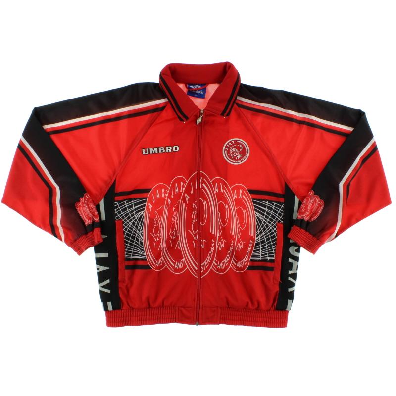 1997-98 Ajax Umbro Track Jacket S