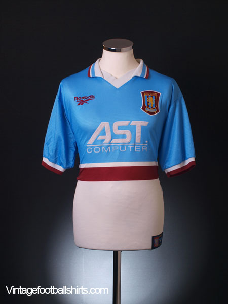 1997-98 Aston Villa Away Shirt *Mint* S
