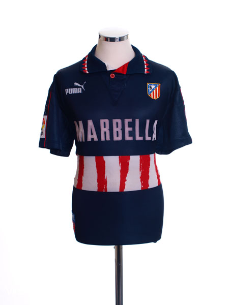 1997-98 Atletico Madrid Away Shirt S