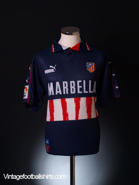 1997-98 Atletico Madrid Away Shirt *BNWT* L