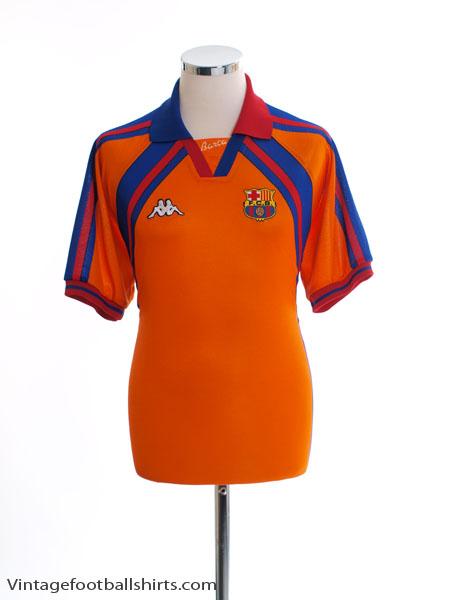 b6d99a404f33b Yükle (450x600)1997-98 Barcelona European Away Shirt M for sale1997-98  Barcelona European Away Shirt M. ...
