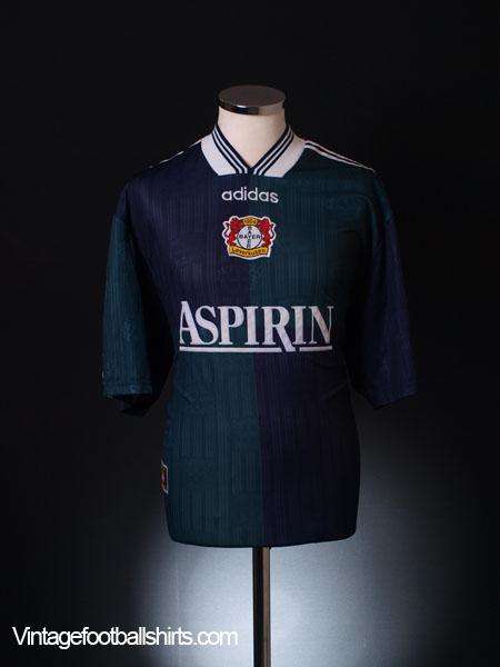 1997-98 Bayer Leverkusen Away Shirt L
