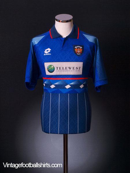 1997-98 Blackpool Third Shirt L
