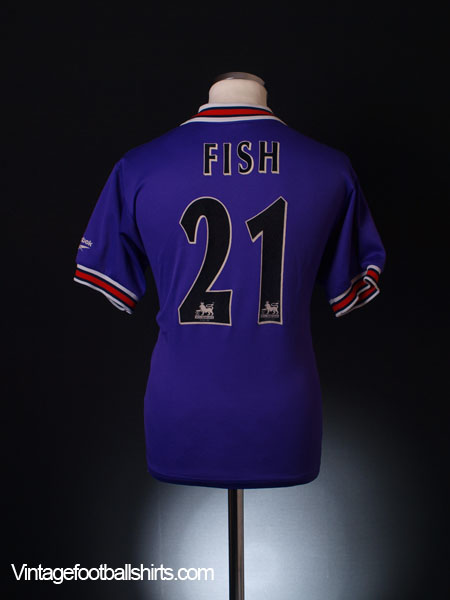 1997-98 Bolton Away Shirt Fish #21 S