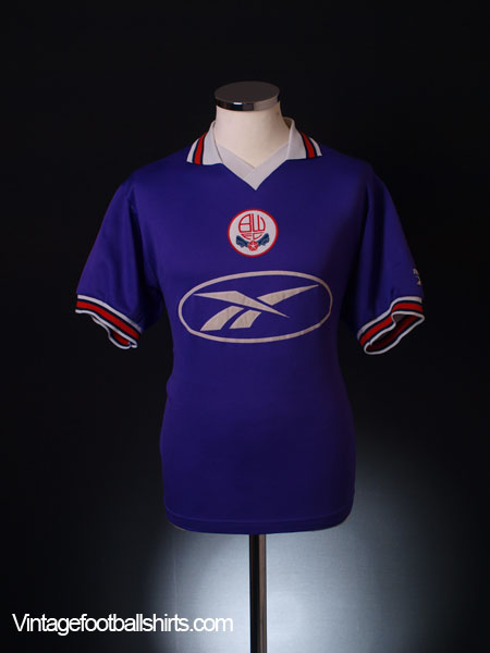 1997-98 Bolton Away Shirt M