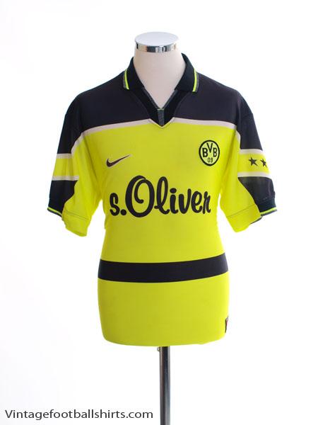 1997-98 Borussia Dortmund Home Shirt XL.Boys