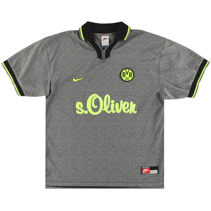 1997-98 Borussia Dortmund Nike Away Shirt L