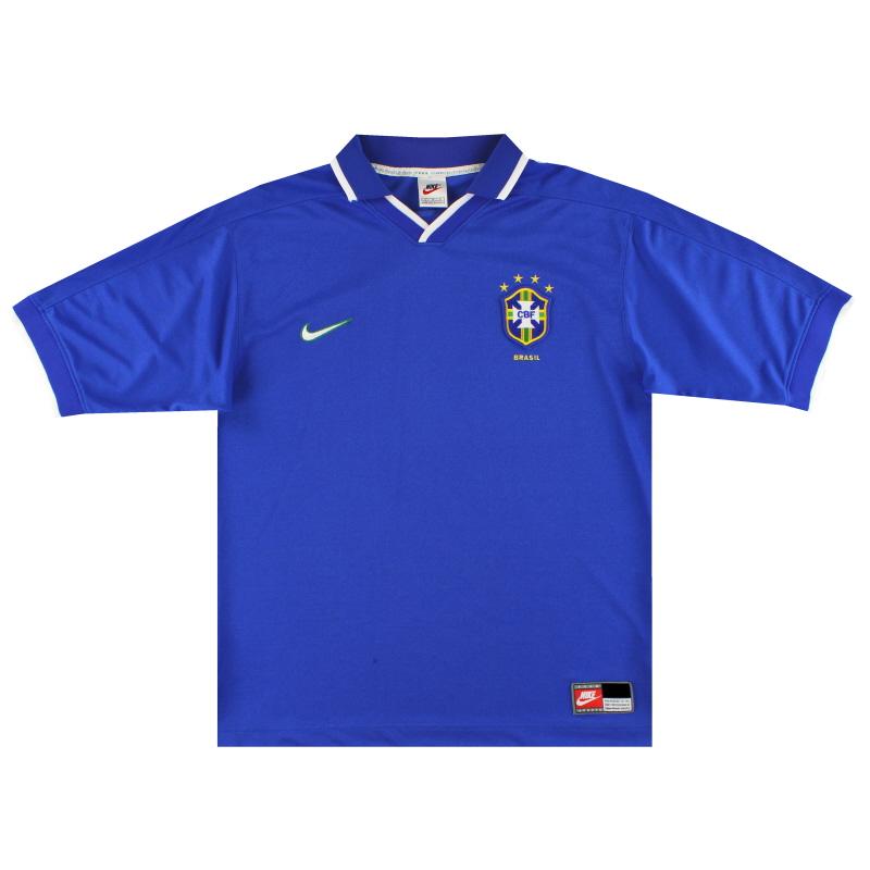 1997-98 Brazil Away Shirt L