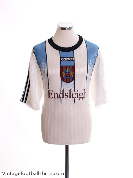 1997-98 Burnley Home Shirt L