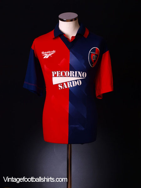 1997-98 Cagliari Home Shirt XL