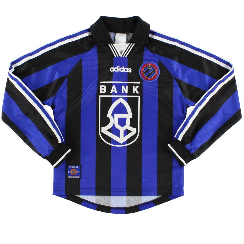 1997-98 Club Brugge Home Shirt L/S M.Boys