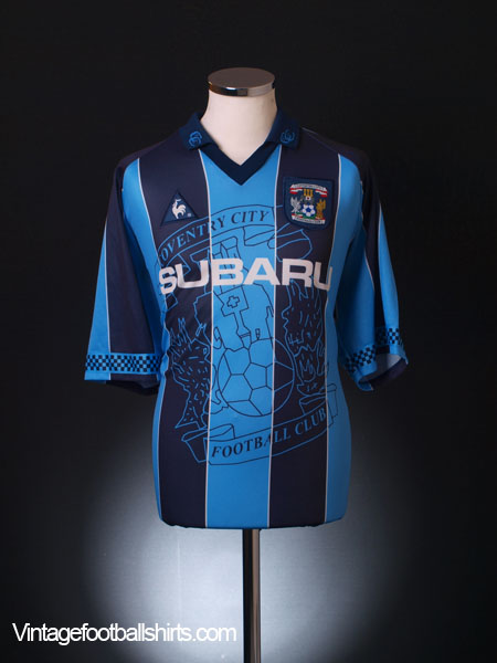 1997-98 Coventry Home Shirt XL