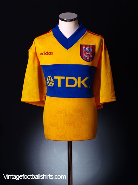 1997-98 Crystal Palace Away Shirt S