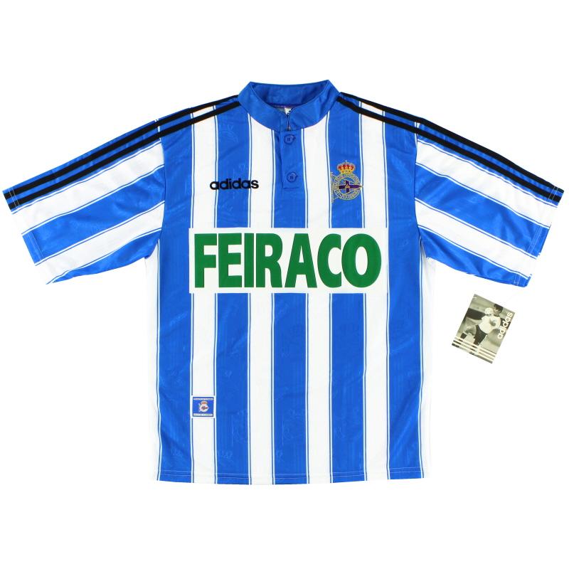 1997-98 Deportivo Home Shirt *BNIB* M