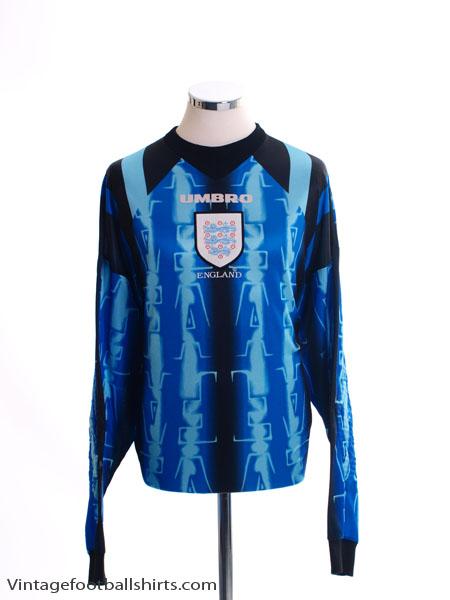 1997-98 England Goalkeeper Shirt XXL