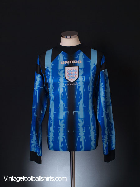 1997-98 England Goalkeeper Shirt M