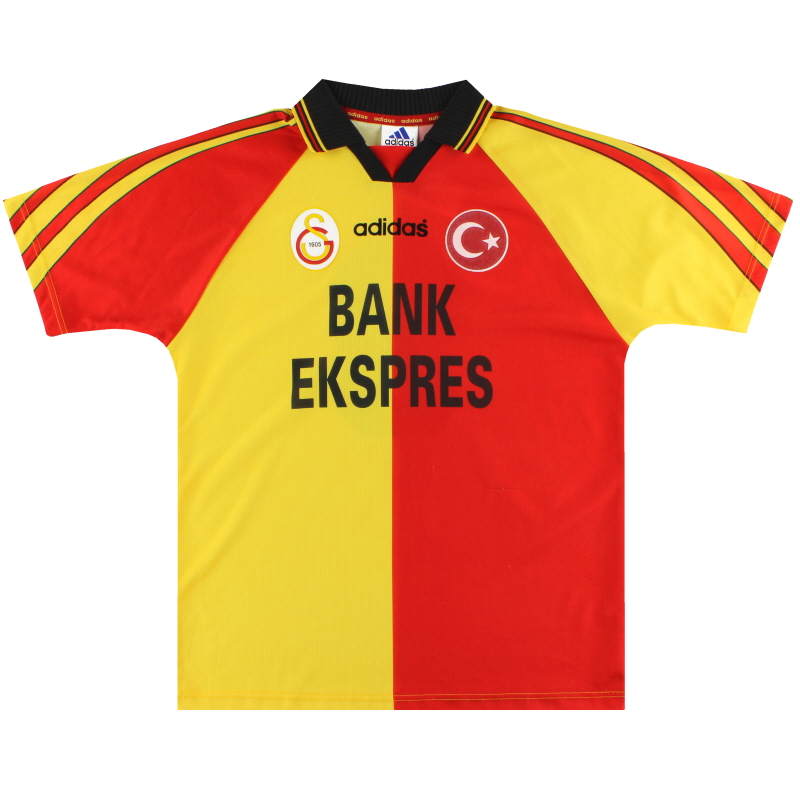1997-98 Galatasaray adidas Home Shirt #9 L