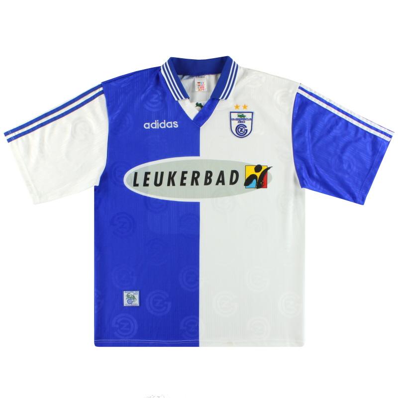 1997-98 Grasshoppers adidas Home Shirt L