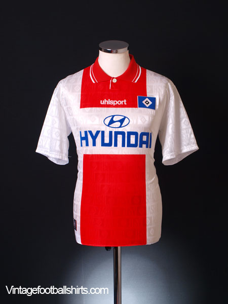 1997-98 Hamburg Away Shirt L