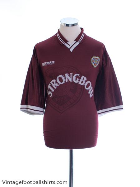 1997-98 Hearts Home Shirt XXL