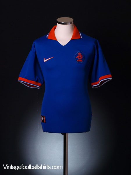 1997-98 Holland Away Shirt *Mint* XL