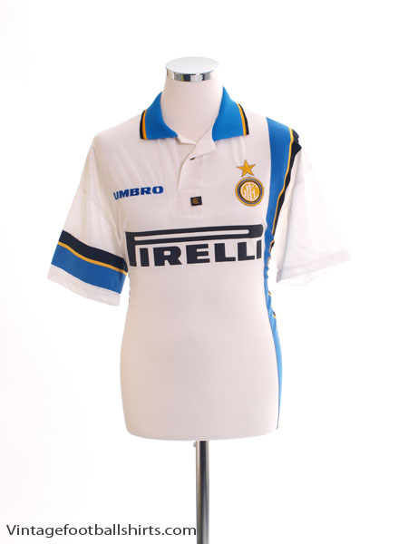 1997-98 Inter Milan Away Shirt L