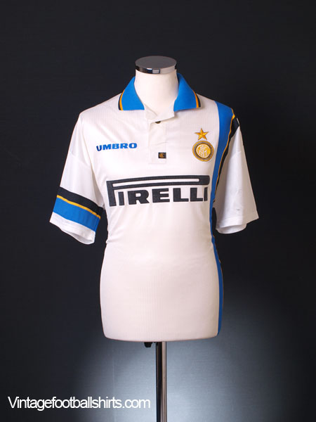 1997-98 Inter Milan Away Shirt L