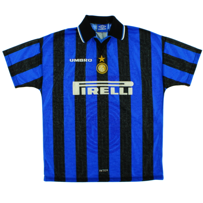 1997-98 Inter Milan Home Shirt XL