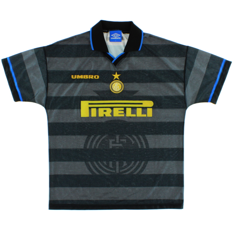1997-98 Inter Milan European Third Shirt L