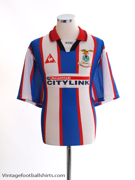 1997-98 Inverness Caledonian Thistle Home Shirt L