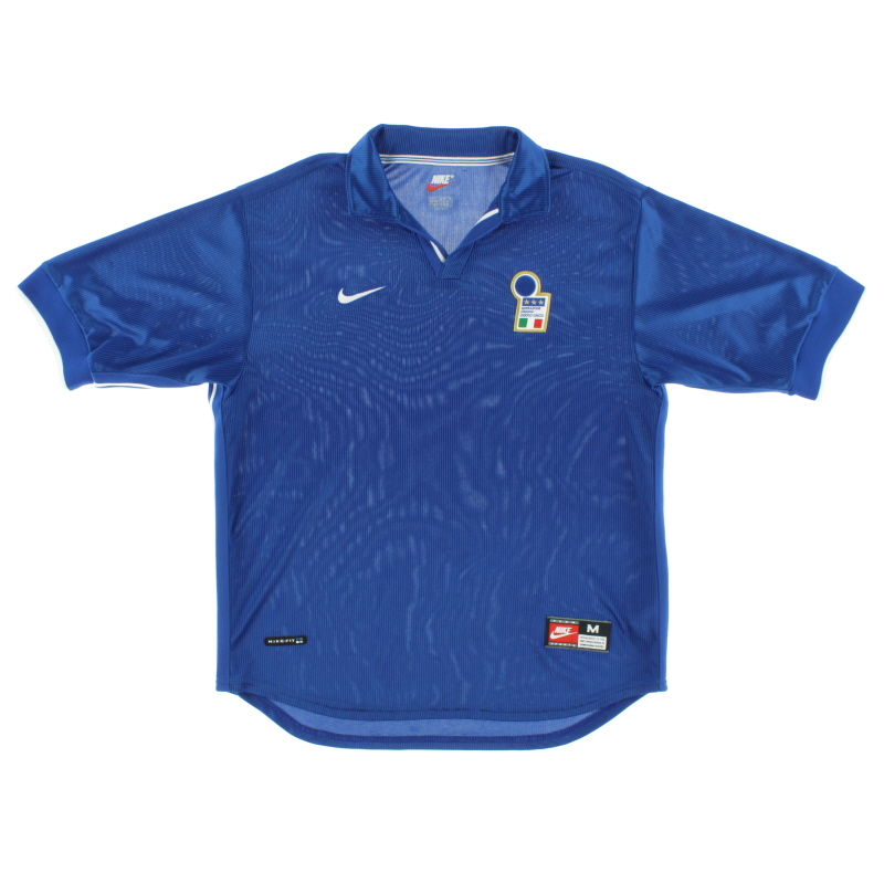 1997-98 Italy Home Shirt L