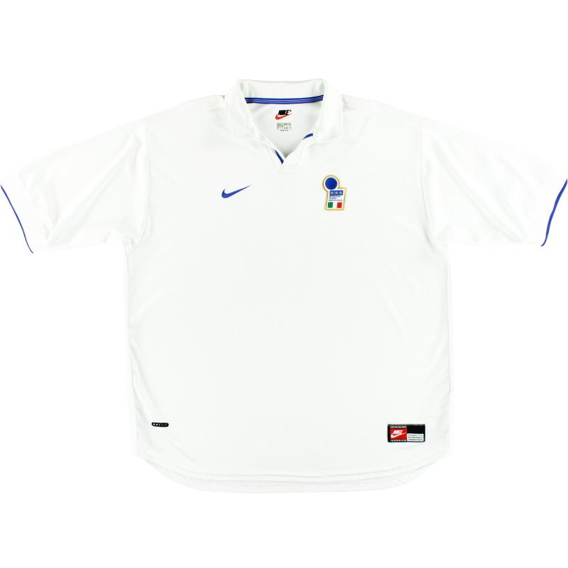 1997-98 Italy Nike Away Shirt XXL