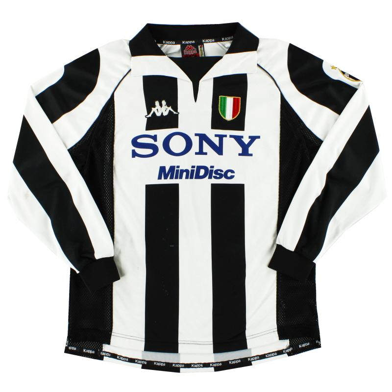 1997-98 Juventus Centenary Home Shirt L/S L