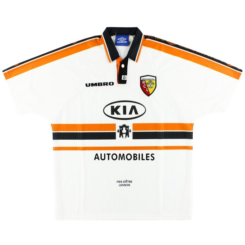 1997-98 Lens Umbro Away Shirt XL