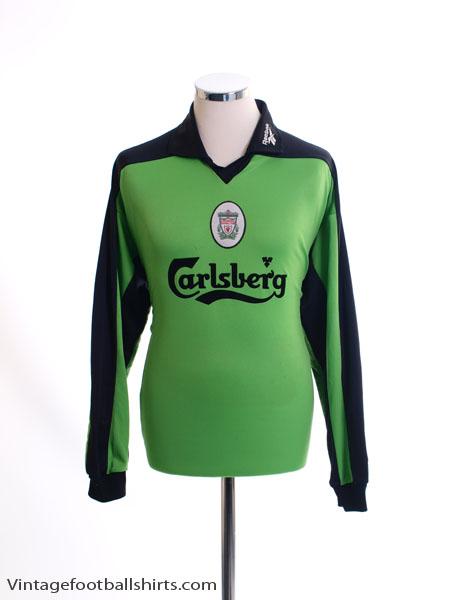 1997-98 Liverpool Goalkeeper Shirt L