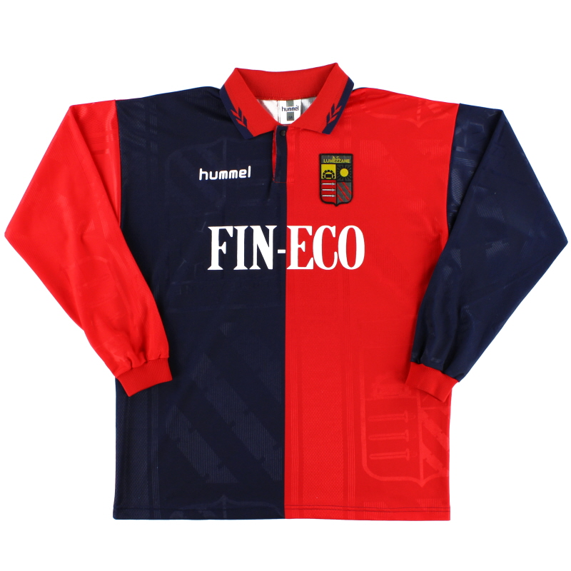 1997-98 Lumezzane Home Shirt L/S XL