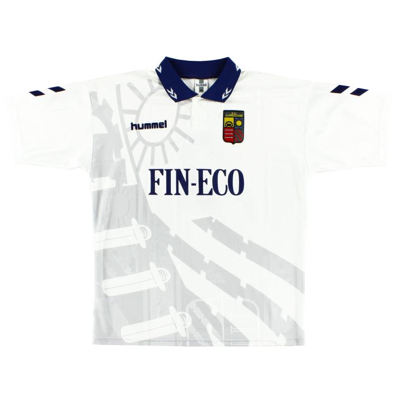1997-98 Lumezzane Match Issue Away Shirt #3 XL