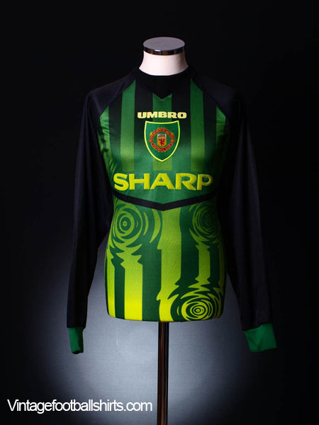 1997-98 Manchester United Goalkeeper Shirt L