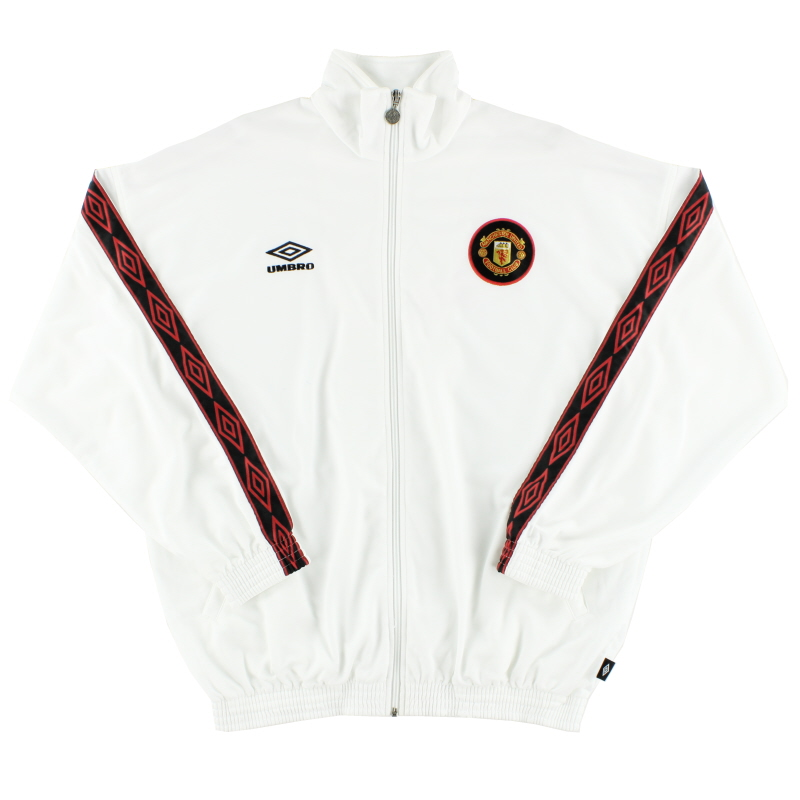 1997-98 Manchester United Umbro Track Jacket L